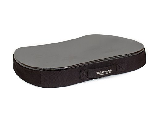 Sofia Sam Mini Memory Foam Lap Desk Color Black