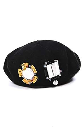 Armani Jeans women's hat baseball cap diamonds basco black US size S