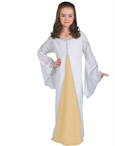 Child Lord of the Rings Arwen White Halloween Costume