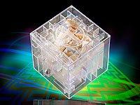 Spardose mit 3D-Kugel-Labyrinth - super Geldgeschenk