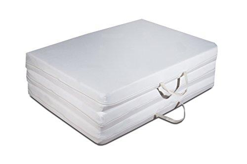 Futon colch n plegable ahorro de espacio plaza individual 97 200 cm colchones visco luxury - Matelas en mousse pliable ...