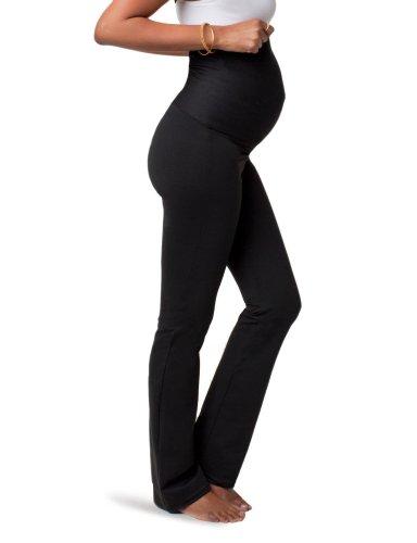 Ingrid & Isabel Women'S Everywear Pant, Black, Size 3/4 front-616284