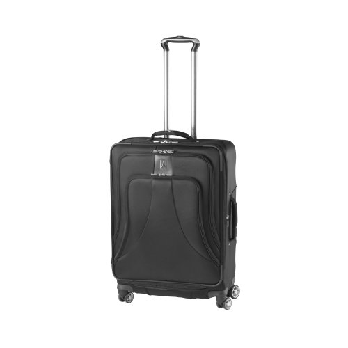 Travelpro Luggage WalkAbout LITE 4 25-Inch Expandable Spinner Upright with Suiter, Black, One Size