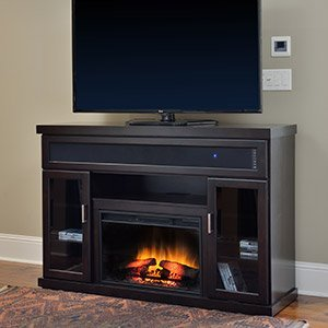Classicflame Tenor Infrared Electric Fireplace Entertainment Center In Espresso - 26Mms9726-E451
