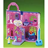 Fisher Price Go Anywhere Girls Pet Parlor ~ Go Anywhere Girls