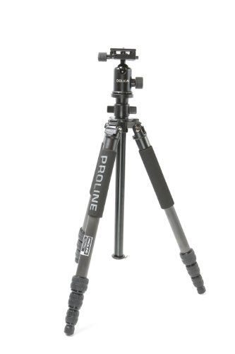 Dolica ZX600B103 Professional 60-Inch ZX Series Carbon Fiber Tripod with Ball Head and Carry Bag (Black) (Proline Tripod Plate compare prices)
