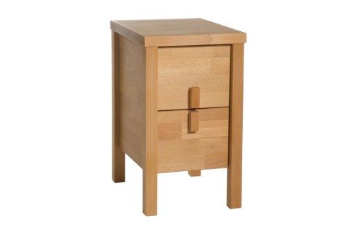 beistelltisch nachttisch arona ii buche massiv ean 4250497415955. Black Bedroom Furniture Sets. Home Design Ideas