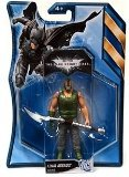 Batman Dark Knight Rises 4.5 Inch Action Figure with Accessories Final Assault Bane Green Shirt by Mattel