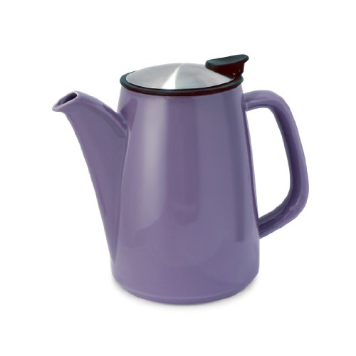 Forlife Café Style Ceramic Infusion Coffee Maker, 30-Ounce/888Ml, Purple