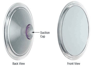 C.R. Laurence Zfc27 Crl Suction Cup Mirror With 7X Optics front-535150