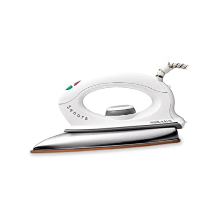 Morphy Richards Senora 1000-Watt Dry Iron (White)