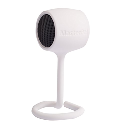MasterPal Telego Speaker (White): (Summer Promotion!!!) Size 4cm 2W Wireless Mini Bluetooth Speakers Rechargeable Battery Operated, Featuring Easy-to-fix Tail Design, Hands-free Call Answer (Small Car Door Speakers compare prices)