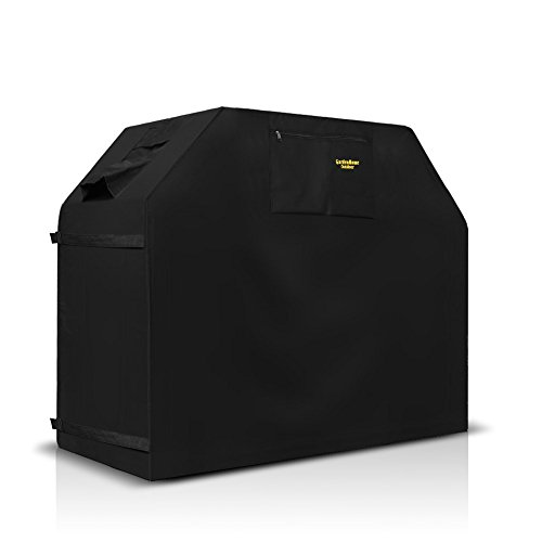 Felicite Home 58 Inch Grill Cover BBQ Grill Cover,Gas Grill Cover For Weber,Water Resistant,Black