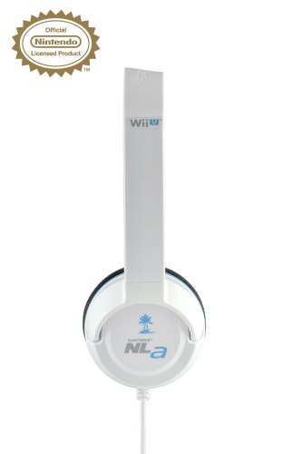 NLa Licensed Nintendo Headset - (White) - Wii U / 3DS galerija