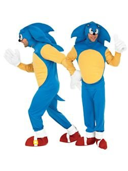 Sonic™ costume for adults - M