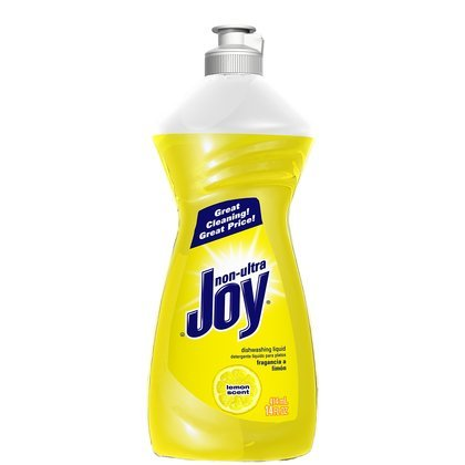 Joy Scent Dishwashing Liquid-Lemon Scent-14 oz. (Pack of 6)
