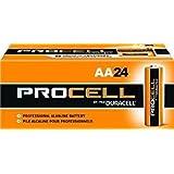 Bulk ProCell Batteries,  AA, 24/Box, PC1500