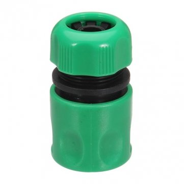 1/2 Inch Plastic Garden Water Hose Quick Connector Hose Fast Fitting banjo hb150 125 90 polypropylene hose fitting 90 degree elbow 1 1 2 npt male x 1 1 4 barbed