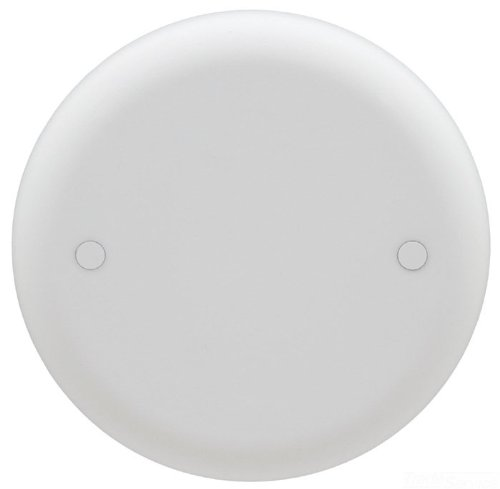 Carlon CPC4WH Ceiling Fan Box Cover Round Blank 4-Inch