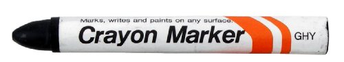 """Sakura Industrial Permanent Crayon Marker, 5/8"""" Diameter x 5"""" Length, 14 to 122 Degrees F, Multiple Colors Available - 1"""