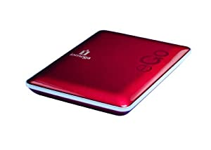 Iomega eGo USB 2.0 500 GB Compact Portable Hard Drive 34895 (Ruby Red)