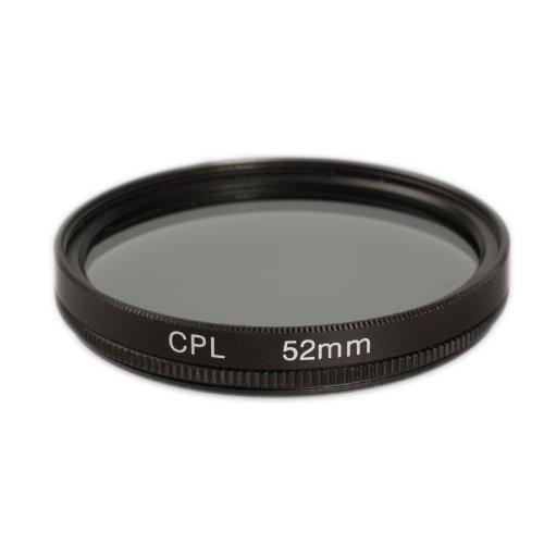 Ares Foto CPL Polfilter 52 mm Polarisationsfilter Filter geeignet für 52mm Filtergewinde z.B. für Nikon D810A D750 D7200 D5500 D3300 D4S D810 D5300 D610 DF D7100 D5200 D3200 D800 D300S Canon Eos 760D 750D 700D 100D 1200D M3 70D 6D 7D Mark II 5D Mark III 5DS R EOS-1D X C Sony Alpha A6000 A5100 A5000 A3000 A65 A58 NEX 5T NEX-3N ...