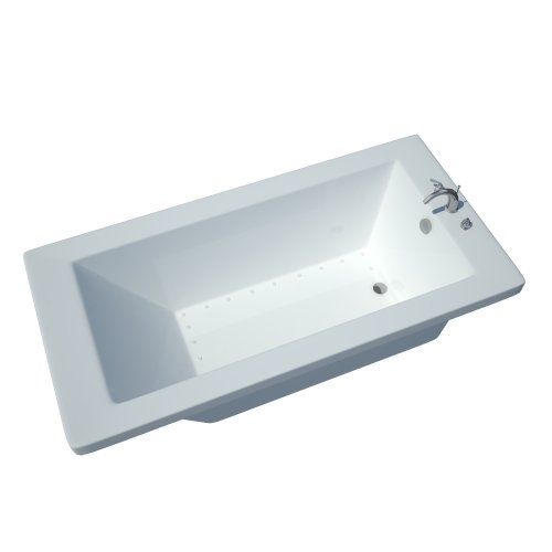 Atlantis Whirlpools 3660vnar Venetian Rectangular Air Jetted Bathtub, 36 X 60, Right Drain, White (Whirlpool Jetted Tub compare prices)