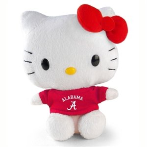 "Plushland Inc. Alabama Hello Kitty 6"" * Sanrio Toy New Plush HKBAMA - 1"
