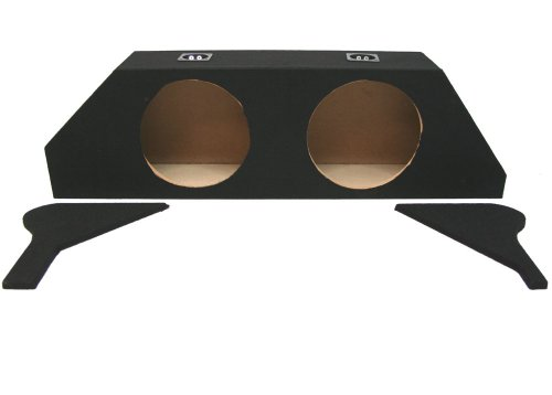 "Asc Chevy Camaro Ls Lt Ss Coupe 2010-2014 Dual 10"" Subwoofer Custom Fit Trunk Sub Box Speaker Enclosure"