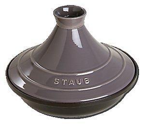 Staub-331-Tagine, Cast Iron, Grey by Staub
