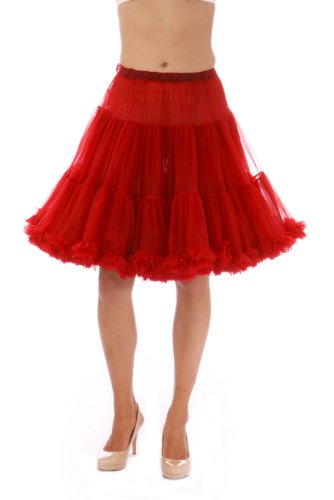 Malco Modes Luxury Vintage Knee-Length Petticoat for Rockabilly 50s Lolita dress