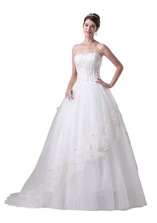 Herafa Wedding Dress Elegant NOw35297 At Amazon Womens Clothing Store