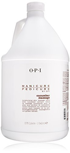 OPI Manicure Pedicure Cucumber Massage Lotion for Unisex, 128 Ounce by OPI