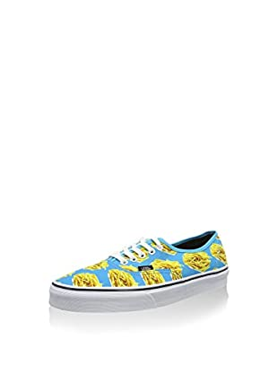 Vans Zapatillas Authentic (Turquesa / Amarillo)