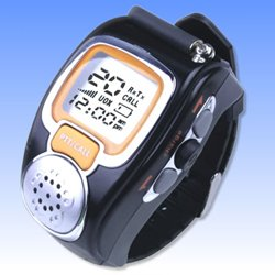 Products - Two Way Radio Walkie Talkie Wristwatch Spy Wrist Digital Watch--Auto Channel Scan--Lcd Display--Auto Squelch Built-In Microphone -