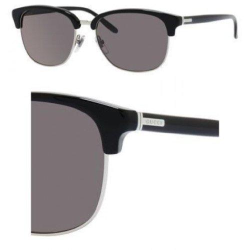 d2cd48e8e2649 Gucci GG2227S Sunglasses-0Z07 Palladium (L8 Gray Lens)-54mm Cheap ...