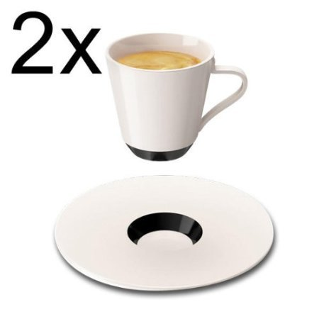 Ristretto Cups And Saucers