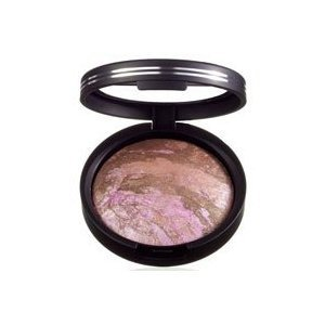 Laura Geller Blush-n-Brighten Baked Cheek Color in Sunswept with Retractable Baked Powder Brush