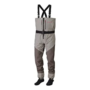 Redington sonic pro zip front fishing wader for Fishing waders amazon