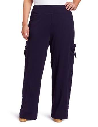 Neon Buddha Women's Plus Size Newport Pant, Purple Monaco, 2X