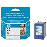 HP C9352AE - Cartucho de tinta HP 22
