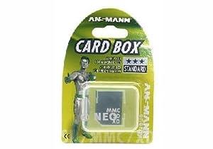 Ansmann Card box Boite de rangement pour carte mémoire XD / MMC / SD