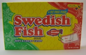 Swedish fish theater size gummy candy for Swedish fish amazon