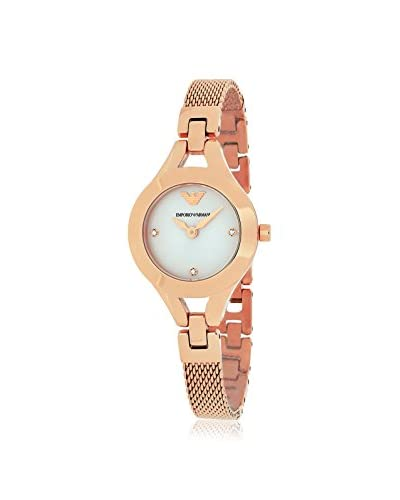 Emporio Armani Women's AR7362 Classic Rose-Tone Stainless Steel Watch