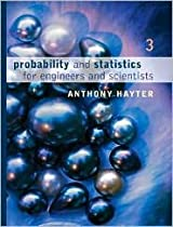Probability and Statistics for Engineers and Scientists (with CD-ROM) 3th (third) edition Text Only