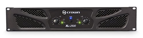 Crown XLi2500 Two-channel, 750W at 4Ω Power Amplifier (Crown Power compare prices)