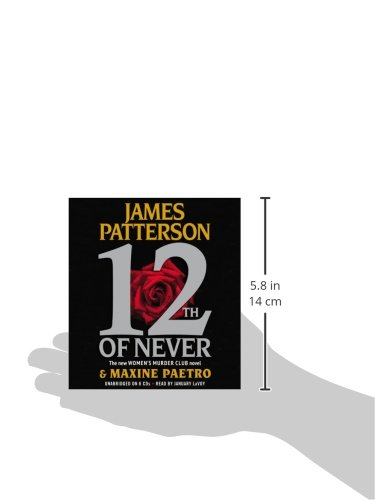 12th of Never by James Patterson (2013, Hardcover)
