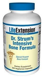 Life Extension Dr. Strum's Intensive Bone Formula Vegetarian Capsules, 300-Count
