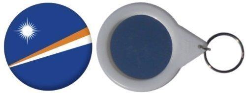 Specchio portachiavi bandiera Isole Marshall - 58mm