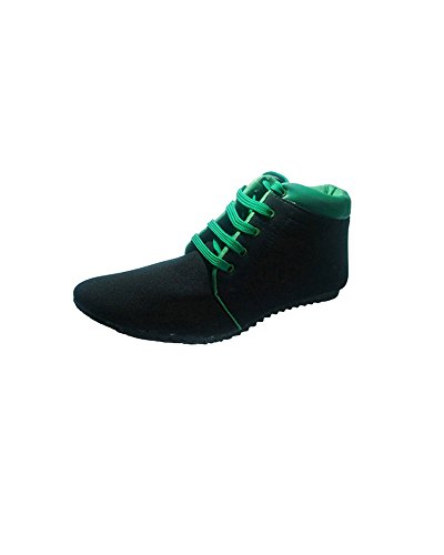 Id New Id Men's Nylon Black Ankle Length Shoes 6UK
